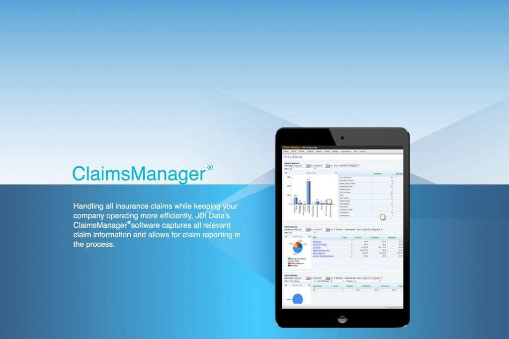 JDi Data's Claims Manager